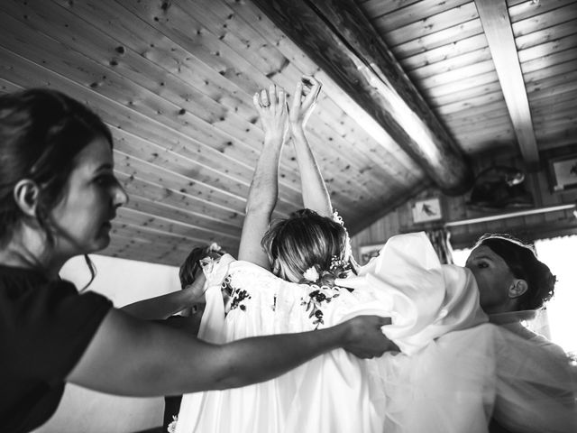Le mariage de Mederik et Melina à Le Grand-Bornand, Haute-Savoie 7