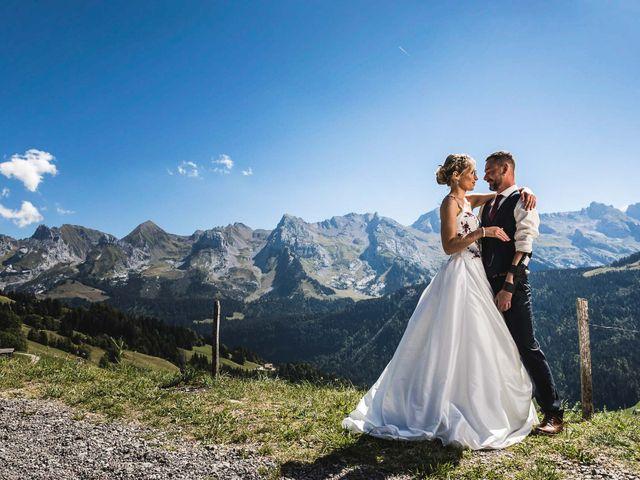 Le mariage de Mederik et Melina à Le Grand-Bornand, Haute-Savoie 12