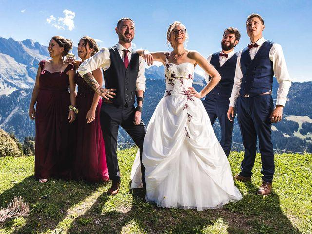 Le mariage de Mederik et Melina à Le Grand-Bornand, Haute-Savoie 13