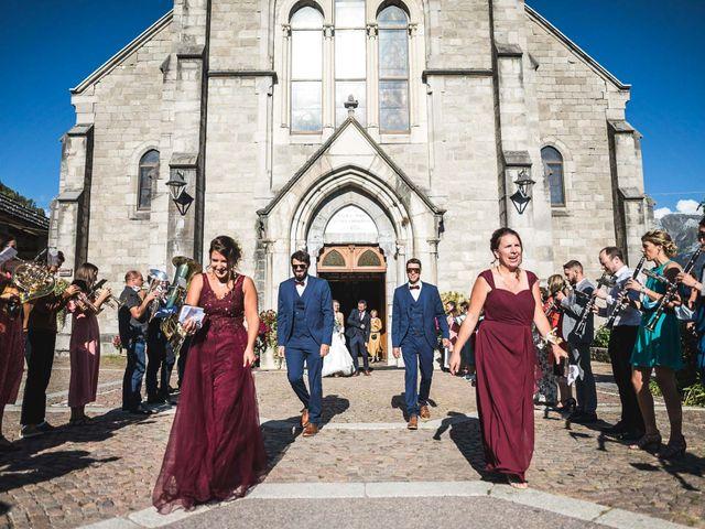 Le mariage de Mederik et Melina à Le Grand-Bornand, Haute-Savoie 32