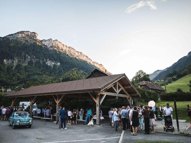 Le mariage de Mederik et Melina à Le Grand-Bornand, Haute-Savoie 39