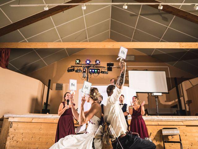 Le mariage de Mederik et Melina à Le Grand-Bornand, Haute-Savoie 44