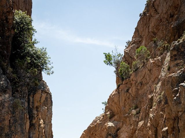 Le mariage de Jonathan et Marina à Piana, Corse 17