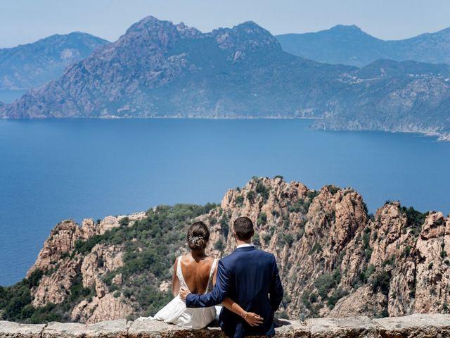 Le mariage de Jonathan et Marina à Piana, Corse 2