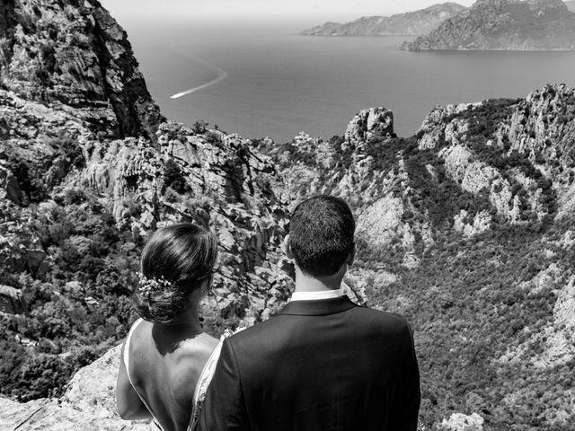 Le mariage de Jonathan et Marina à Piana, Corse 20