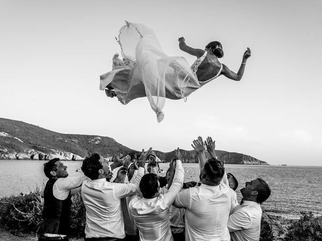 Le mariage de Jonathan et Marina à Piana, Corse 41