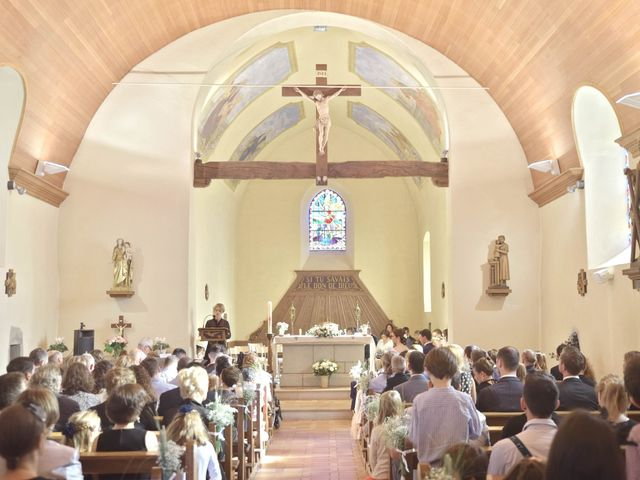 Le mariage de François et Sophie à Étaux, Haute-Savoie 19