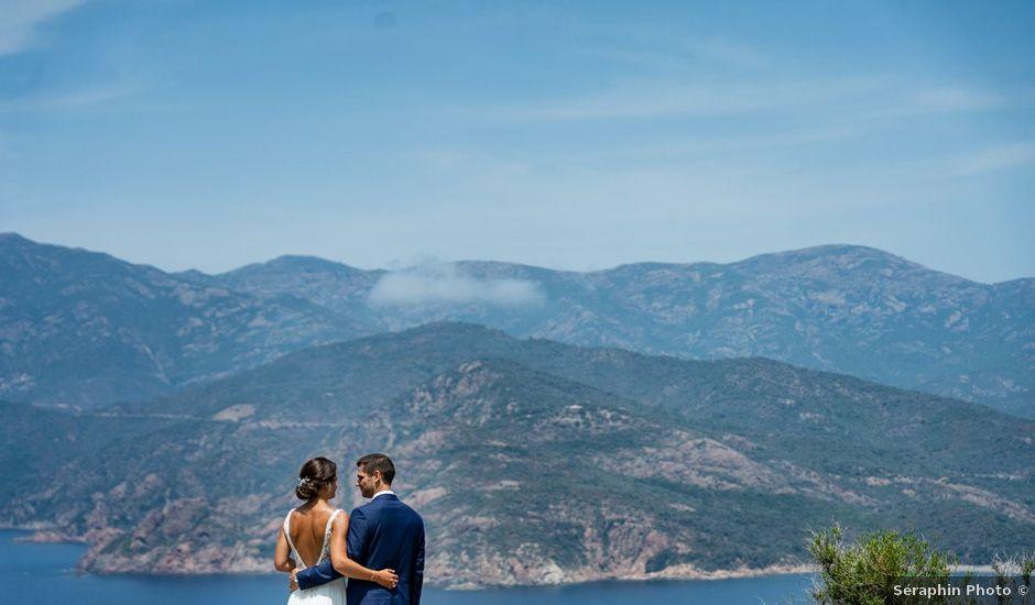 Le mariage de Jonathan et Marina à Piana, Corse