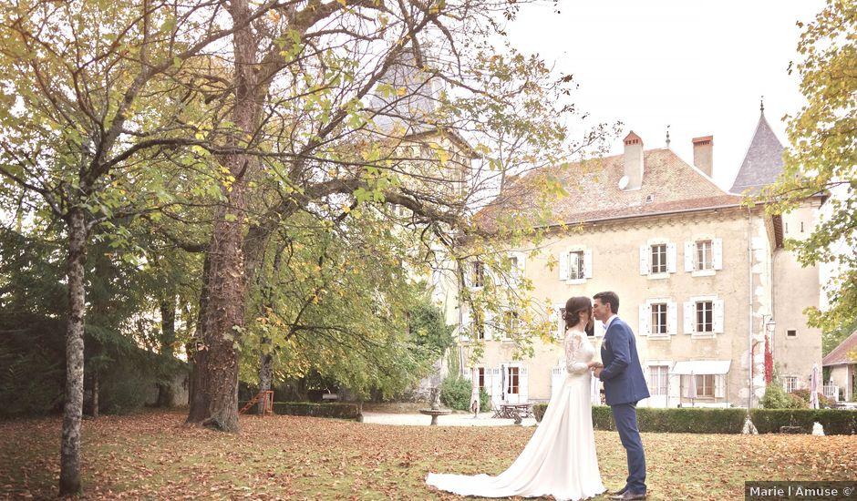 Le mariage de François et Sophie à Étaux, Haute-Savoie