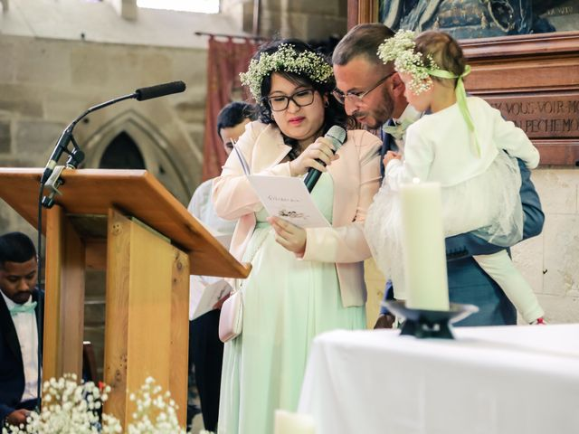 Le mariage de Guillaume et Céline à Jouy-le-Moutier, Val-d'Oise 77