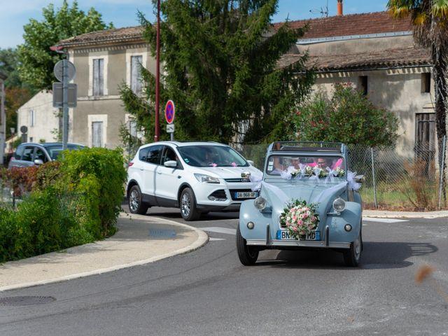 Le mariage de Jérémy et Mélissa à Saint-Savin, Gironde 12
