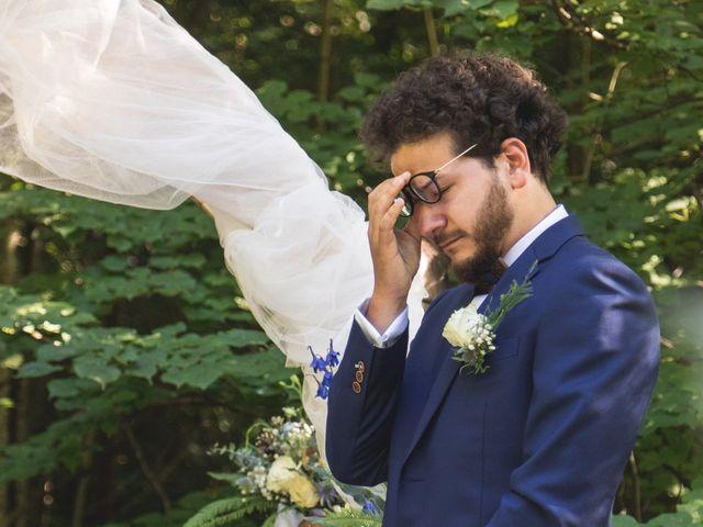 Le mariage de Nicolas et Amandine à Marmanhac, Cantal 19
