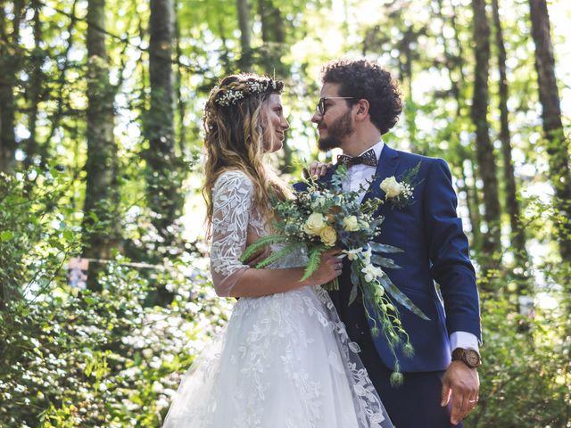 Le mariage de Nicolas et Amandine à Marmanhac, Cantal 21