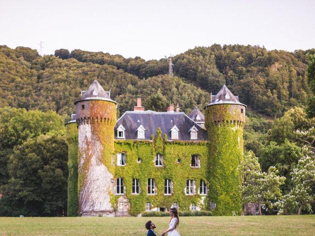Le mariage de Nicolas et Amandine à Marmanhac, Cantal 24