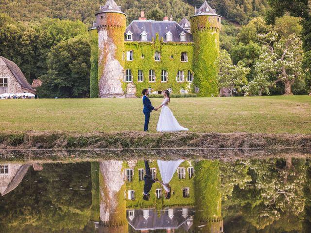 Le mariage de Nicolas et Amandine à Marmanhac, Cantal 25