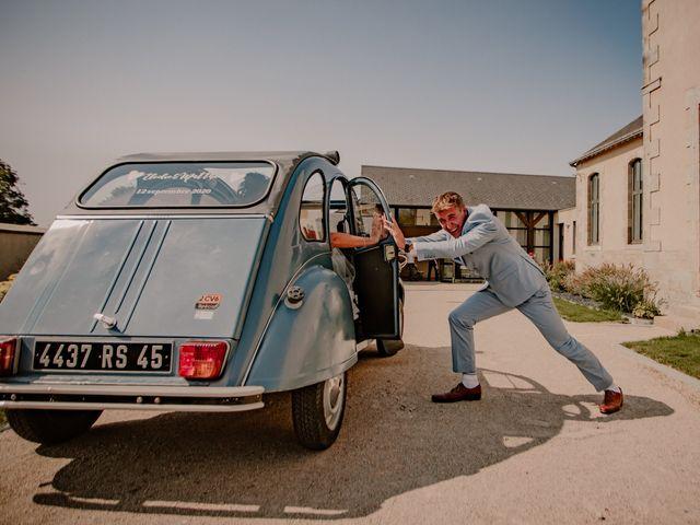 Le mariage de Matt et Elodie à Saint-Denis-de l'Hôtel, Loiret 19