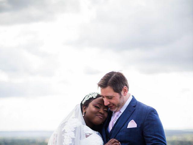 Le mariage de Pierre et Émilienne à Saint-Pierre-du-Vauvray, Eure 95