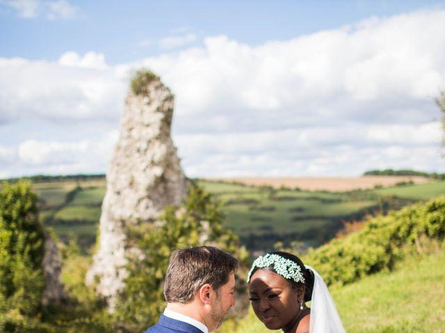Le mariage de Pierre et Émilienne à Saint-Pierre-du-Vauvray, Eure 177