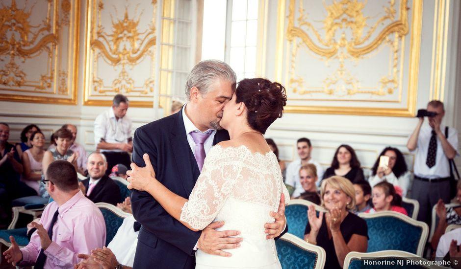 Le mariage de Raul et Corinne à Versailles, Yvelines