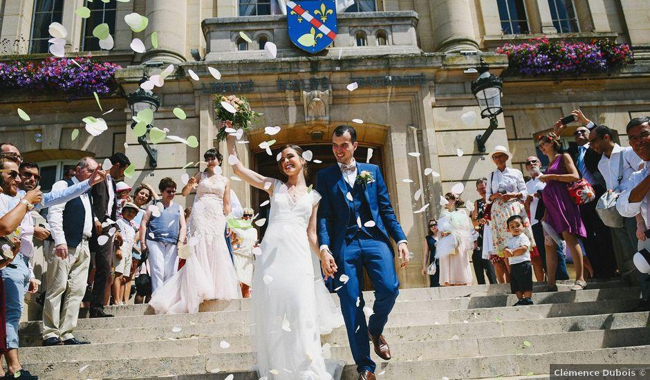 Le mariage de Mathieu et Virginie à Évreux, Eure