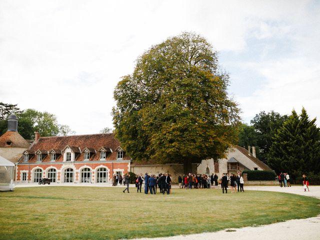 Le mariage de Julien et Mariana à Beaulieu-sur-Loire, Loiret 16
