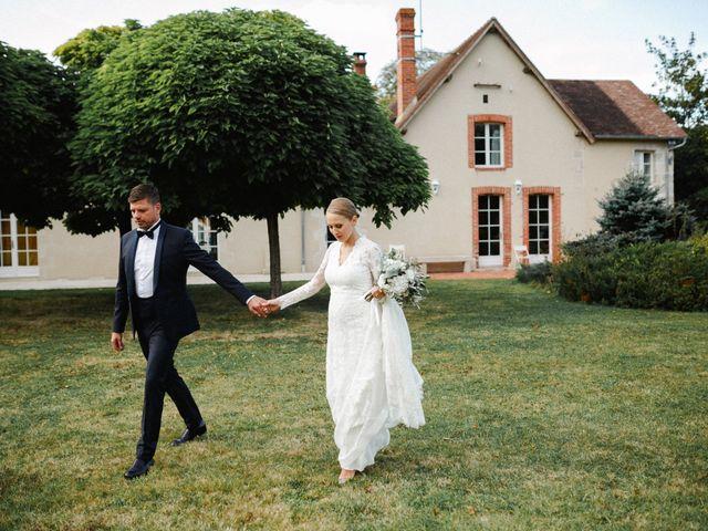 Le mariage de Julien et Mariana à Beaulieu-sur-Loire, Loiret 35