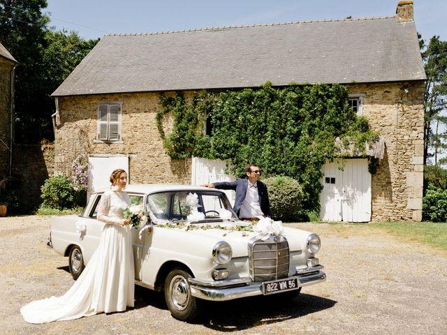 Le mariage de Maxime et Nadège à Landaul, Morbihan 34
