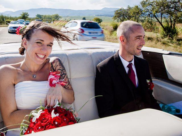 Le mariage de Christophe et Laetitia à Ostheim, Haut Rhin 17