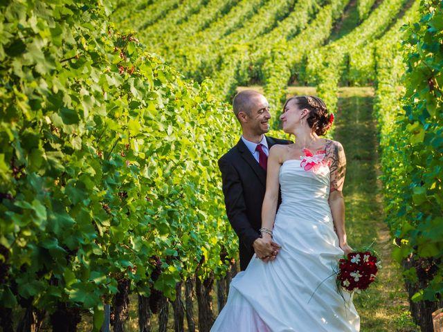 Le mariage de Christophe et Laetitia à Ostheim, Haut Rhin 25