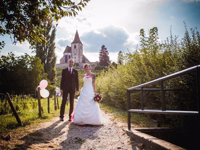 Le mariage de Christophe et Laetitia à Ostheim, Haut Rhin 2