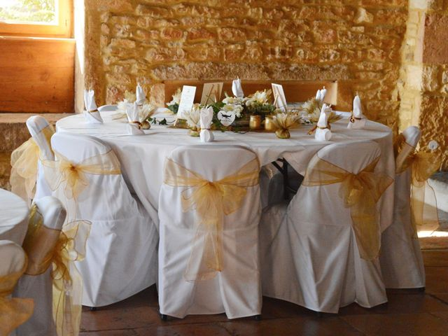 Le mariage de Thomas et Elodie à Lacenas, Rhône 3