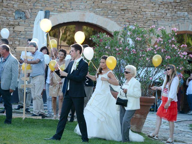 Le mariage de Thomas et Elodie à Lacenas, Rhône 73