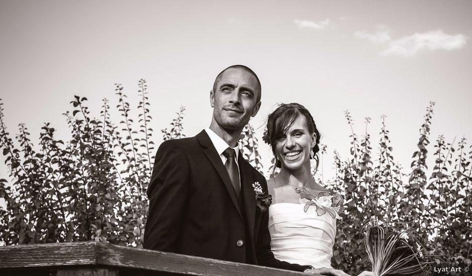 Le mariage de Christophe et Laetitia à Ostheim, Haut Rhin