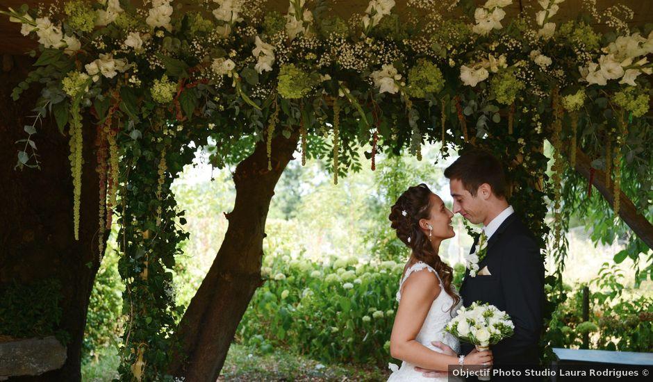 Le mariage de Thomas et Elodie à Lacenas, Rhône