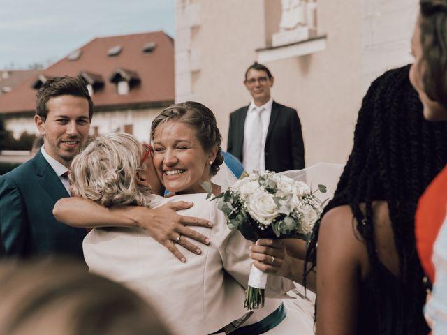 Le mariage de Micheala et Thomas à Menthon-Saint-Bernard, Haute-Savoie 8