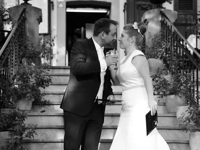 Le mariage de David et Marie-France à Thann, Haut Rhin 14