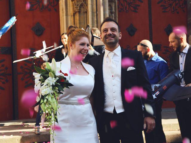 Le mariage de David et Marie-France à Thann, Haut Rhin 36