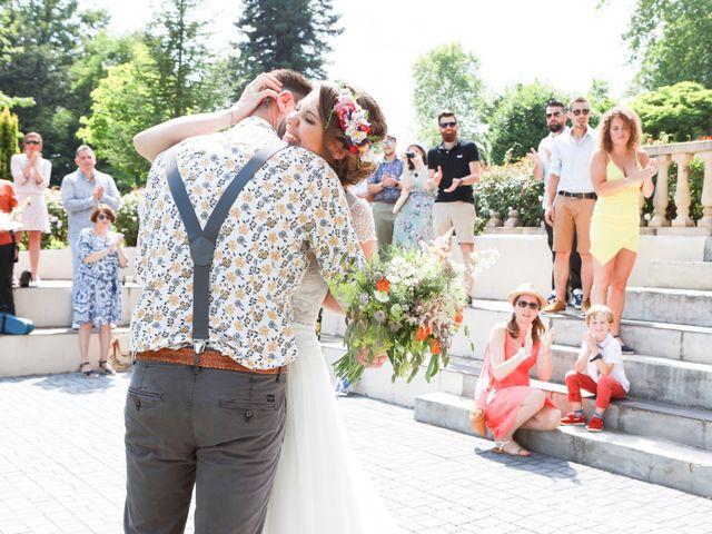 Le mariage de Tony et Elodie à Saint-Martin-Terressus, Haute-Vienne 12