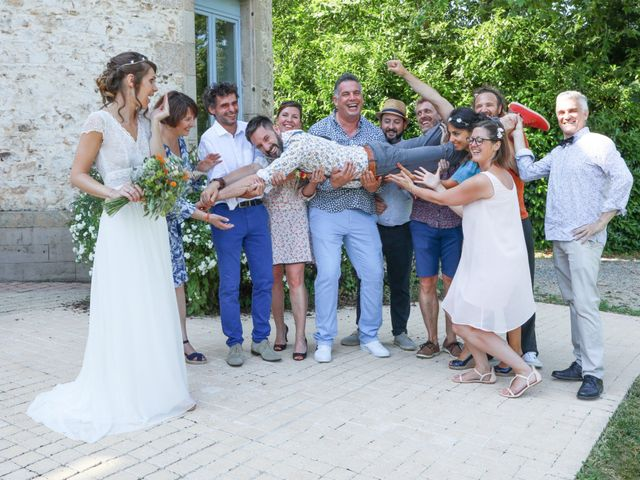 Le mariage de Tony et Elodie à Saint-Martin-Terressus, Haute-Vienne 17