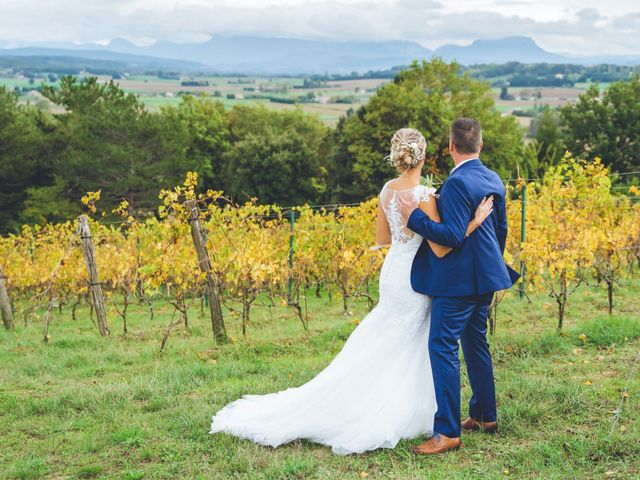 Le mariage de Gaël et Sophie à Allex, Drôme 36