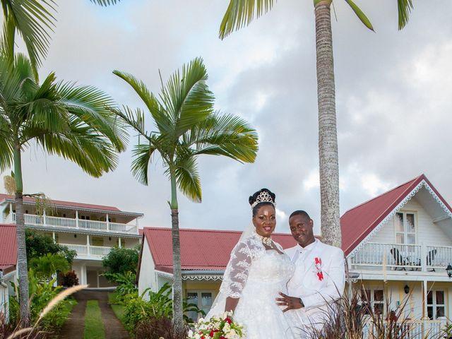 Le mariage de Dominique et Claudine à Sainte-Marie, Martinique 1