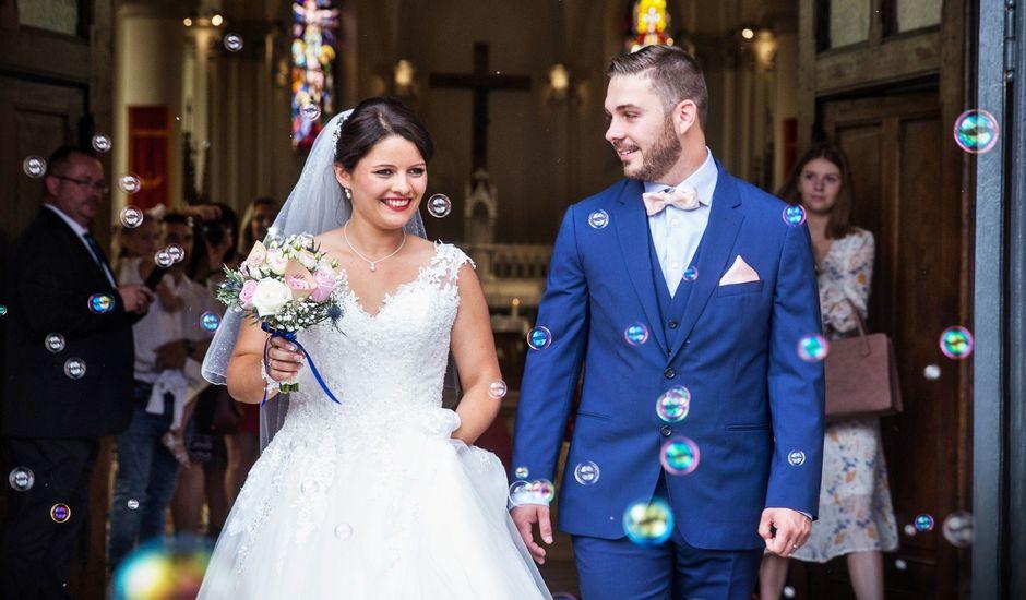 Le mariage de David et Hélène à Provin, Nord