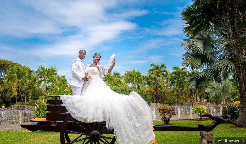 Le mariage de Dominique et Claudine à Sainte-Marie, Martinique