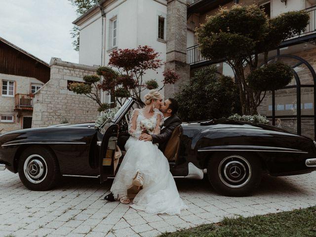 Le mariage de Yassine et Marie Amanda à Amondans, Doubs 47