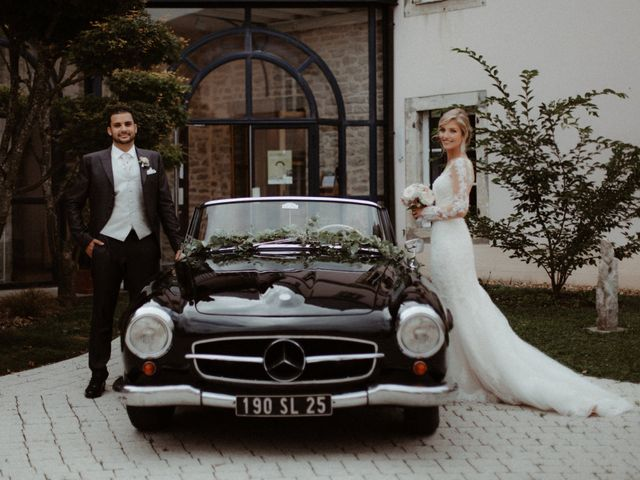 Le mariage de Yassine et Marie Amanda à Amondans, Doubs 51