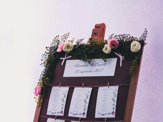 Le mariage de Camille et Alexandra à Charbonnières les Varennes, Puy-de-Dôme 38