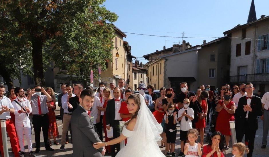 Le mariage de Daryl et Delphine  à Poncin, Ain