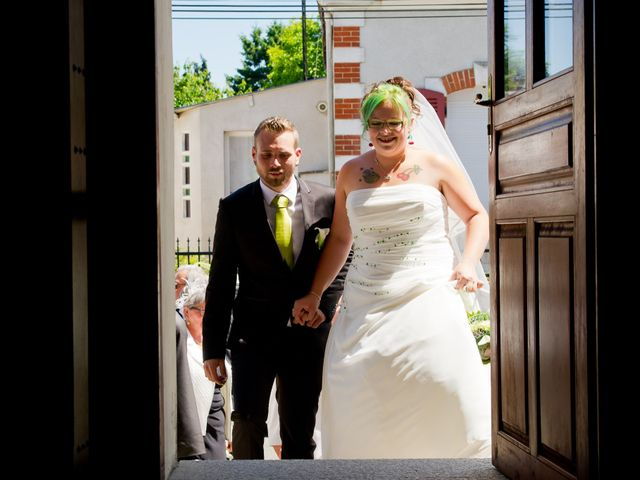 Le mariage de Nicolas et Cindy à Sainte-Jamme-sur-Sarthe, Sarthe 7