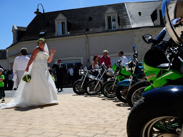 Le mariage de Nicolas et Cindy à Sainte-Jamme-sur-Sarthe, Sarthe 11
