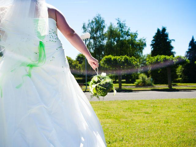 Le mariage de Nicolas et Cindy à Sainte-Jamme-sur-Sarthe, Sarthe 16